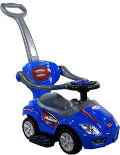 Obrázek Odrážedlo Mega Car s vodící tyčí + multifunkční volant