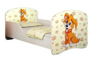 Obrázek Dětská postel - Pejsek
