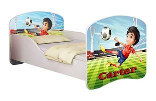 Obrázek Dětská postel - Fotbalista + jméno