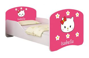 Obrázek Dětská postel - Sladká Kitty 2 + jméno