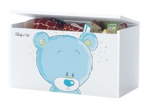 Obrázek Truhla na hračky - Modrý medvídek