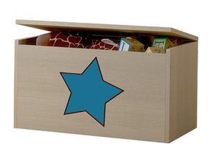 Obrázek Truhla na hračky - Hvězda