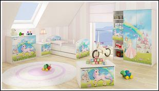 Obrázek Truhla na hračky - Pohádková krajina