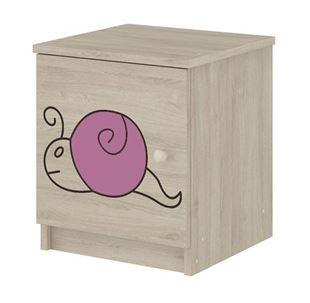 Obrázek Noční stolek Šnek