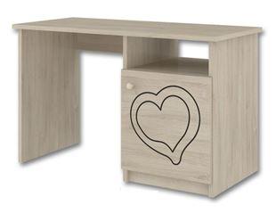 Obrázek Psací stůl Srdce
