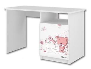 Obrázek Psací stůl Růžový medvídek