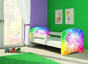 Obrázek Dětská postel - Poník jednorožec duha 2