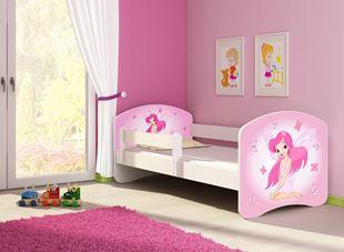 Obrázek Dětská postel - Růžová víla 2