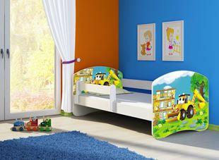 Obrázek Dětská postel - Bagr 2