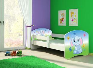Obrázek Dětská postel - Barevný sloník 2