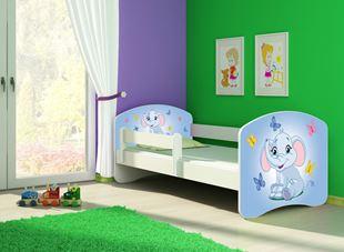 Obrázek Dětská postel - Modrý sloník 2