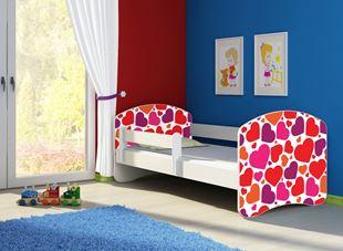 Obrázek Dětská postel - Sladká srdíčka 2