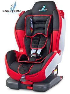 Obrázek Autosedačka CARETERO Sport TurboFix red 2016