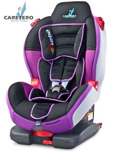 Obrázek Autosedačka CARETERO Sport TurboFix purple 2016