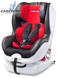 Obrázek Autosedačka CARETERO Defender Plus Isofix red 2016