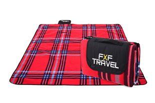 Obrázek Pikniková deka  - Červená