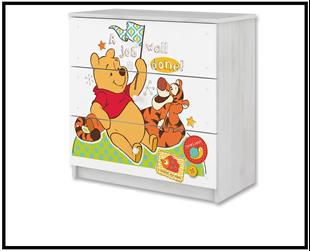 Obrázek Disney Komoda Medvídek Pú III