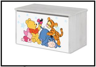 Obrázek Disney Truhla na hračky Medvídek Pú I