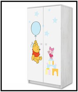 Obrázek Disney Šatní skříň Medvídek Pú I