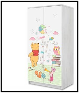 Obrázek Disney Šatní skříň Medvídek Pú II
