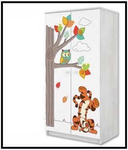 Obrázek Disney Šatní skříň Medvídek Pú III