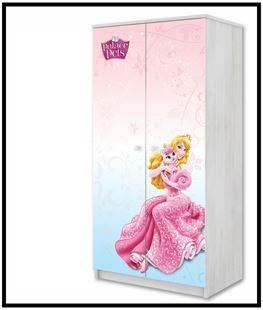 Obrázek Disney Šatní skříň Princezny