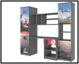 Obrázek Disney Obývací stěna Letadla