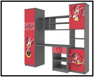 Obrázek Disney Obývací stěna Minnie červená