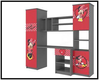Obrázek z Disney Obývací stěna Minnie červená