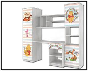 Obrázek Disney Obývací stěna Medvídek Pú IV