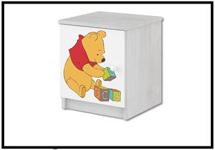 Obrázek Disney Noční stolek Medvídek Pú III