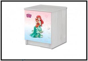 Obrázek Disney Noční stolek Princezny
