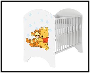 Obrázek Disney dětská postýlka Medvídek Pú I