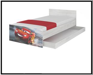 Obrázek Disney dětská postel Cars 160x80 cm