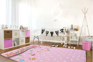 Obrázek Dětský koberec - Sovičky na větvi