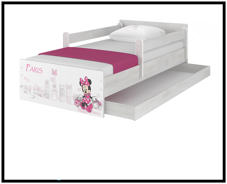 2db6f32aa7365 Disney dětská postel Minnie Paříž 160x80 cm. Bambulin.cz - hračky ...