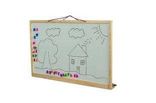 Obrázek Dětská magnetická tabule na zeď 2v1