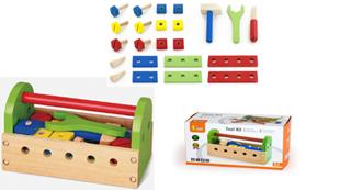 Obrázek Dětské dřevěné nářadí