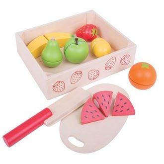 Obrázek z Dřevěné potraviny - krájení ovoce