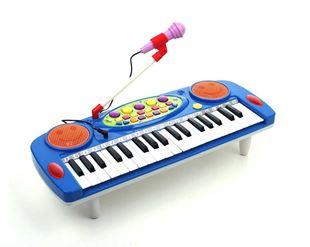 Obrázek Dětské klávesy s mikrofonem