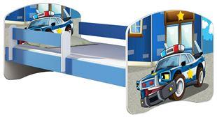 Obrázek Dětská postel - Policie 2