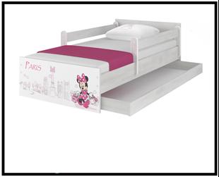 Obrázek Disney dětská postel Minnie Paříž 180x90 cm