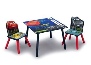 Obrázek Dětský stůl s židlemi Auta (Cars)