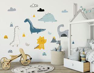 Obrázek Dekorace na zeď Dinosauři