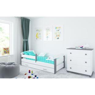 Obrázek Dětská postel s matrací - KATKA - 140x70cm