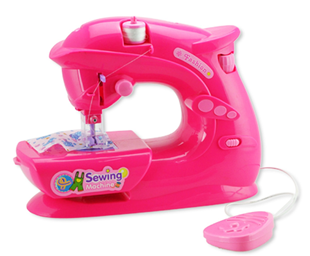 Obrázek Dětský šicí stroj - růžový