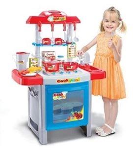 Obrázek Kuchyňka červeno - modrá