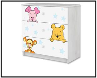 Obrázek Disney Komoda Medvídek Pú I