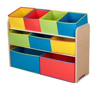 Obrázek z Organizér na hračky multicolor