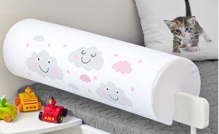 Obrázek Chránič na postel - mráčky